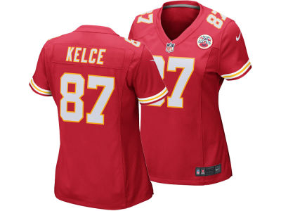 Kansas City Chiefs Travis Kelce Nike NFL Women's Game Jersey