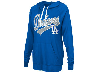 Los Angeles Dodgers G-III Sports MLB Women's Pre-Game Hoodie
