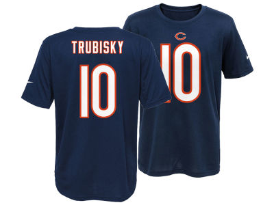 Chicago Bears Mitchell Trubisky NFL Youth Pride Name and Number T-Shirt