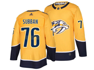 Nashville Predators P.K. Subban adidas NHL Authentic Player Jersey