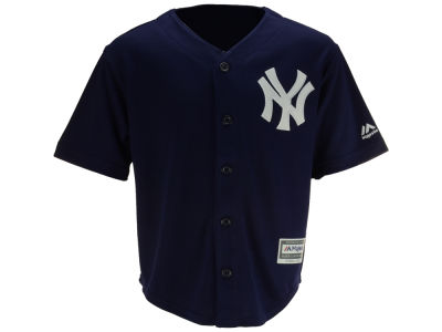 New York Yankees Majestic MLB Kids Blank Replica Cool Base Jersey
