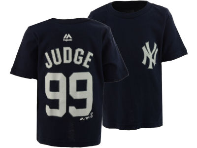 New York Yankees Aaron Judge Majestic MLB Infant Official Player T-Shirt