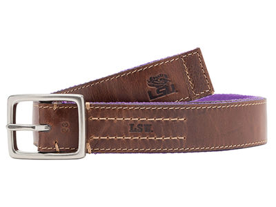 LSU Tigers Jack Mason Alumni Reversible Belt