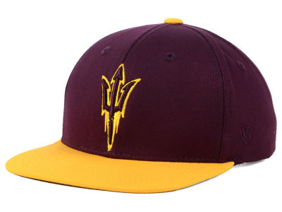 Arizona State Sun Devils Top of the World NCAA Youth Maverick Snapback Cap