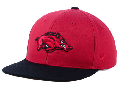 Arkansas Razorbacks Top of the World NCAA Youth Maverick Snapback Cap