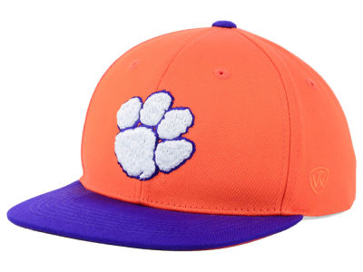 Clemson Tigers Top of the World NCAA Youth Maverick Snapback Cap