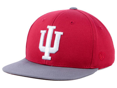 Indiana Hoosiers Top of the World NCAA Youth Maverick Snapback Cap