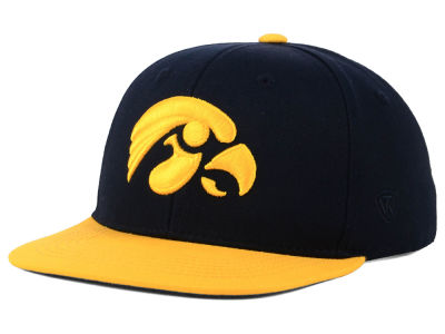 Iowa Hawkeyes Top of the World NCAA Youth Maverick Snapback Cap