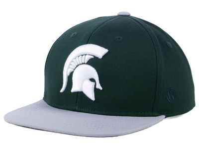 Michigan State Spartans Top of the World NCAA Youth Maverick Snapback Cap
