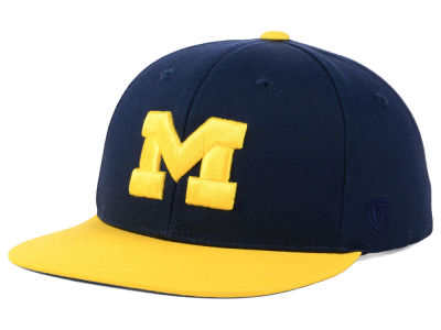 Michigan Wolverines Top of the World NCAA Youth Maverick Snapback Cap
