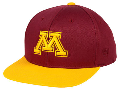 Minnesota Golden Gophers Top of the World NCAA Youth Maverick Snapback Cap