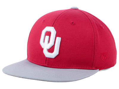 Oklahoma Sooners Top of the World NCAA Youth Maverick Snapback Cap