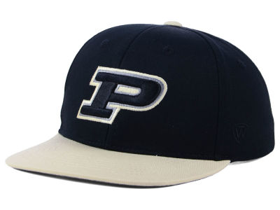 Purdue Boilermakers Top of the World NCAA Youth Maverick Snapback Cap