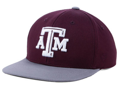Texas A&M Aggies Top of the World NCAA Youth Maverick Snapback Cap