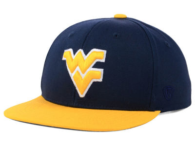 West Virginia Mountaineers Top of the World NCAA Youth Maverick Snapback Cap
