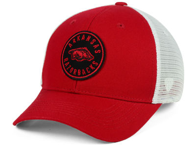 Arkansas Razorbacks Top of the World NCAA Coin Trucker Cap