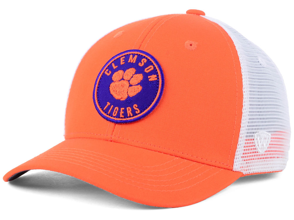 6701130f ... authentic clemson tigers top of the world ncaa coin trucker cap 9a52c  3bdfd