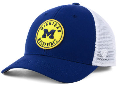 Michigan Wolverines Top of the World NCAA Coin Trucker Cap