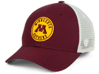Minnesota Golden Gophers Top of the World NCAA Coin Trucker Cap