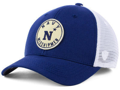 Navy Midshipmen Top of the World NCAA Coin Trucker Cap