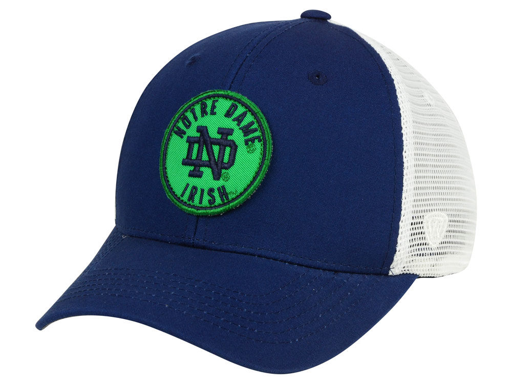 Notre Dame Fighting Irish Top of the World NCAA Coin Trucker Cap ... aa7b6e4c443