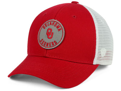 Oklahoma Sooners Top of the World NCAA Coin Trucker Cap