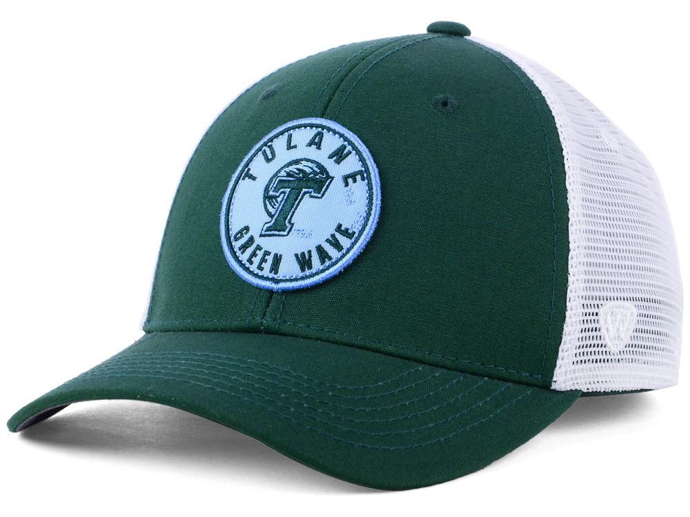 Tulane Green Wave Top of the World NCAA Coin Trucker Cap  4e410766fe7