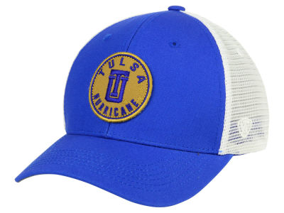 Tulsa Golden Hurricane Top of the World NCAA Coin Trucker Cap