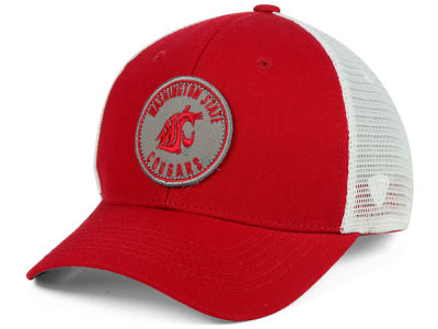 Washington State Cougars Top of the World NCAA Coin Trucker Cap
