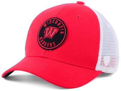 Wisconsin Badgers Top of the World NCAA Coin Trucker Cap