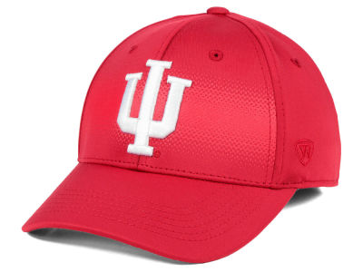 Indiana Hoosiers Top of the World NCAA Life Stretch Cap