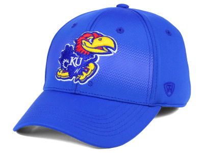 Kansas Jayhawks Top of the World NCAA Life Stretch Cap