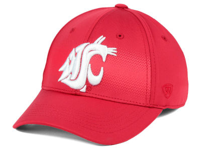 Washington State Cougars Top of the World NCAA Life Stretch Cap