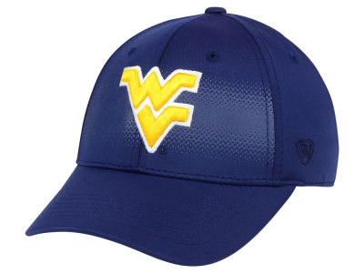 West Virginia Mountaineers Top of the World NCAA Life Stretch Cap