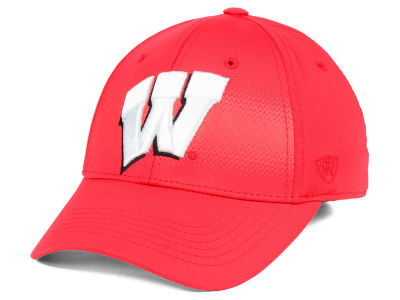 Wisconsin Badgers Top of the World NCAA Life Stretch Cap