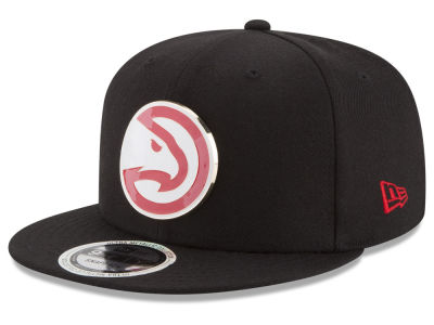 Atlanta Hawks New Era NBA Enamel Badge 9FIFTY Snapback Cap