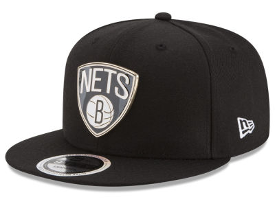 Brooklyn Nets New Era NBA Enamel Badge 9FIFTY Snapback Cap