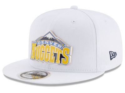 Denver Nuggets New Era NBA Enamel Badge 9FIFTY Snapback Cap