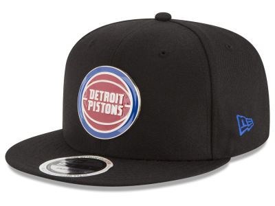 Detroit Pistons New Era NBA Enamel Badge 9FIFTY Snapback Cap