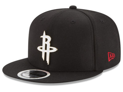 Houston Rockets New Era NBA Enamel Badge 9FIFTY Snapback Cap