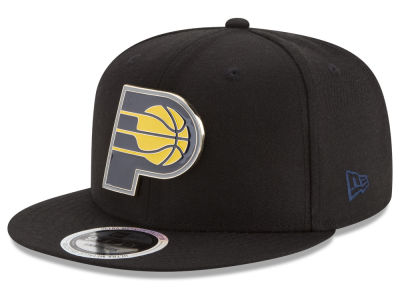Indiana Pacers New Era NBA Enamel Badge 9FIFTY Snapback Cap