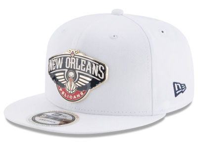 New Orleans Pelicans New Era NBA Enamel Badge 9FIFTY Snapback Cap