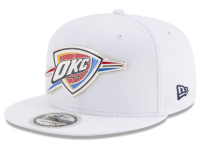 Oklahoma City Thunder New Era NBA Enamel Badge 9FIFTY Snapback Cap