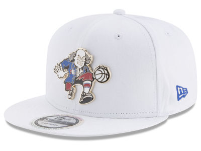 Philadelphia 76ers New Era NBA Enamel Badge 9FIFTY Snapback Cap