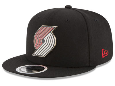 Portland Trail Blazers New Era NBA Enamel Badge 9FIFTY Snapback Cap