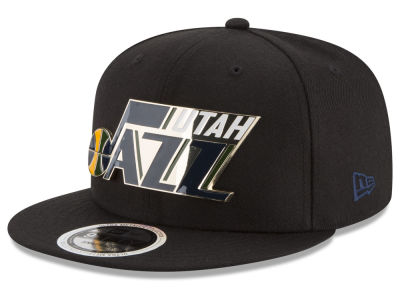 Utah Jazz New Era NBA Enamel Badge 9FIFTY Snapback Cap