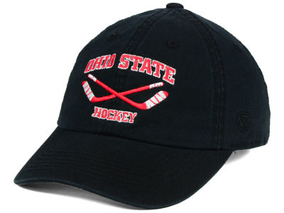 Ohio State Buckeyes Top of the World NCAA OSU Hockey Crew Adjustable Cap