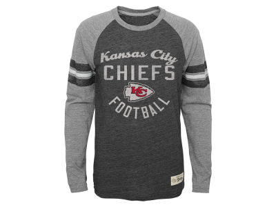 Kansas City Chiefs NFL Youth Sleeve Stripe Long Sleeve T-Shirt