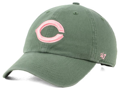 Cincinnati Reds '47 MLB Moss Pink '47 CLEAN UP Cap