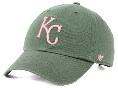 Kansas City Royals '47 MLB Moss Pink '47 CLEAN UP Cap